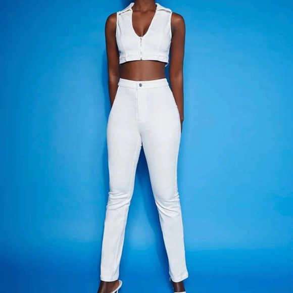 White Pant Set!